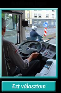 Autóbusz jogosítvány - tanfolyam